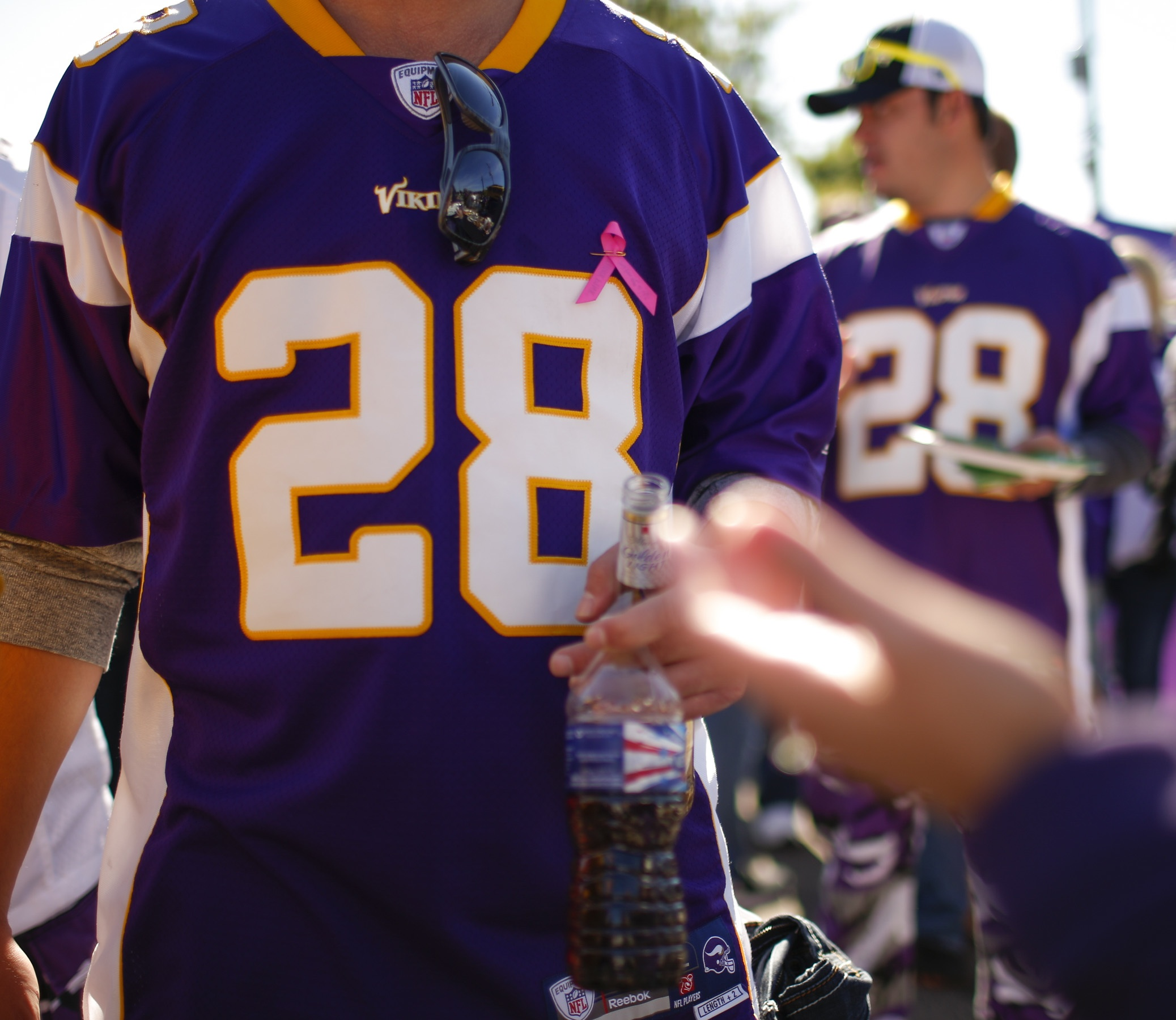 Vikings won't be doing an Adrian Peterson jersey exchange