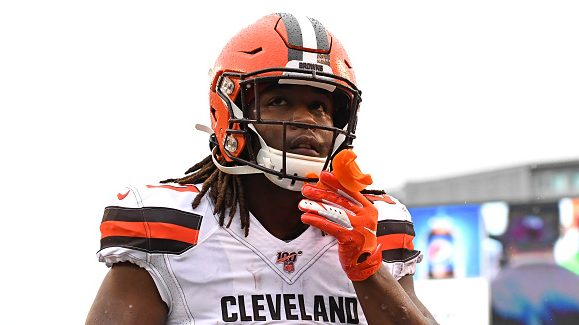 """Kareem Hunt feels """"lucky and blessed"""" to be a Brown - ProFootballTalk"""