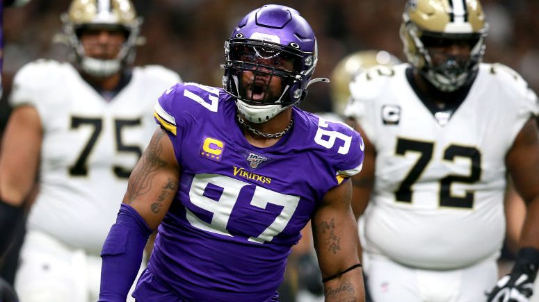 Report: Everson Griffen told Vikings he's voiding remainder of contract - ProFootballTalk