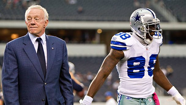 """Jerry Jones on signing Dez Bryant: """"I've thought a lot about it in the shower"""" - ProFootballTalk"""