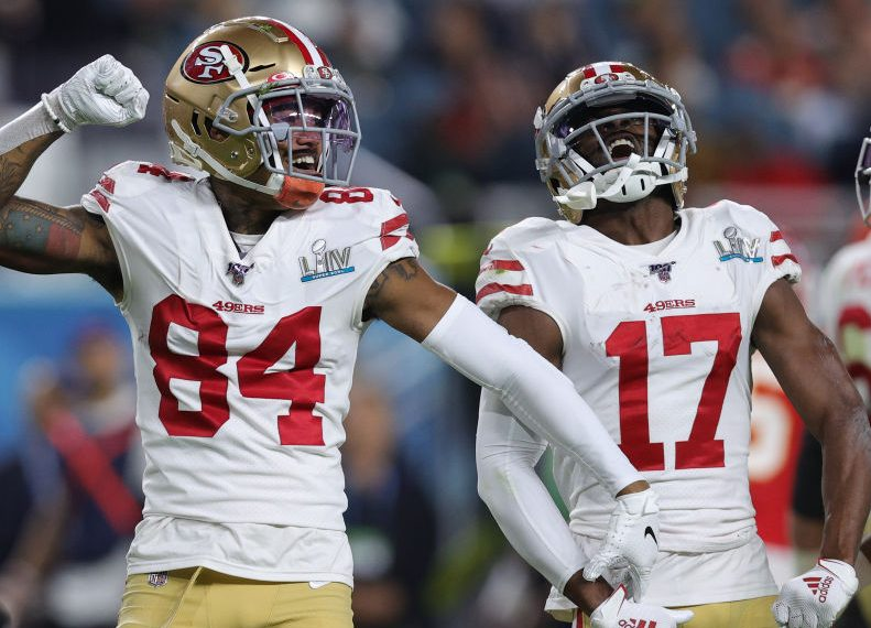 Emmanuel Sanders made an impression during his short time with the 49ers - ProFootballTalk