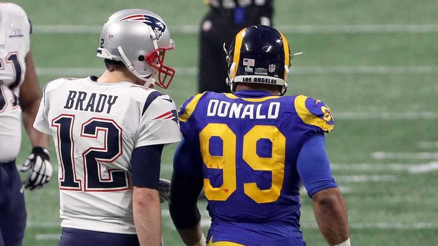 Tom Brady, Aaron Donald among unanimous choices for 2010s All-Decade team