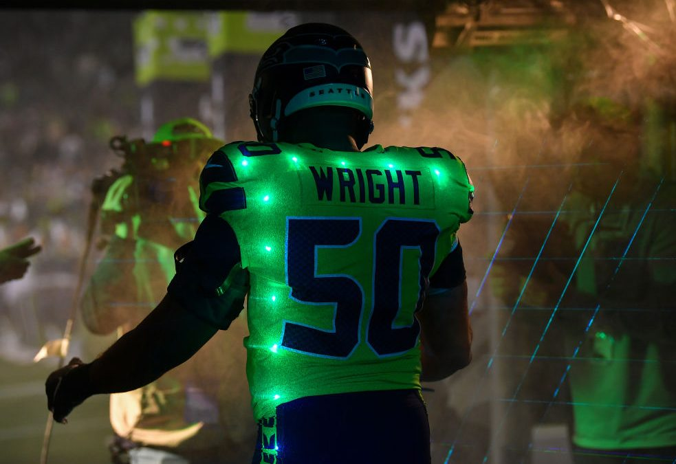 Coming off shoulder surgery, K.J. Wright could move to SAM