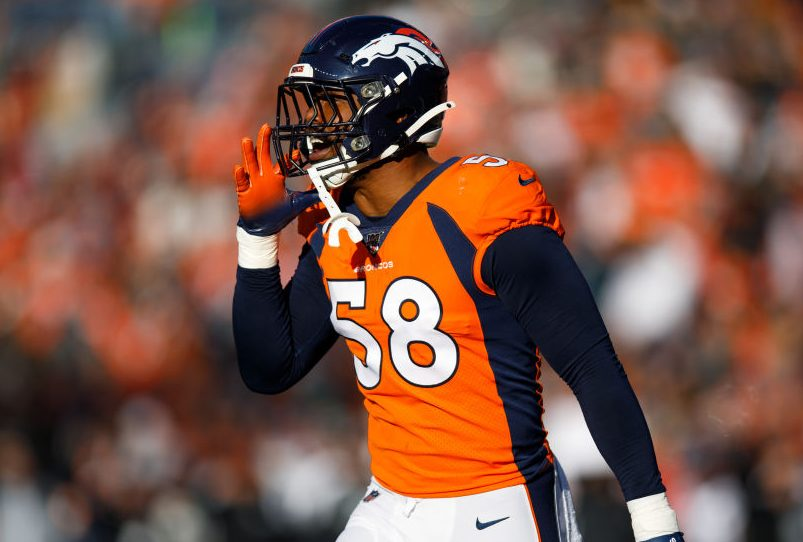 Von Miller cleared from COVID-19