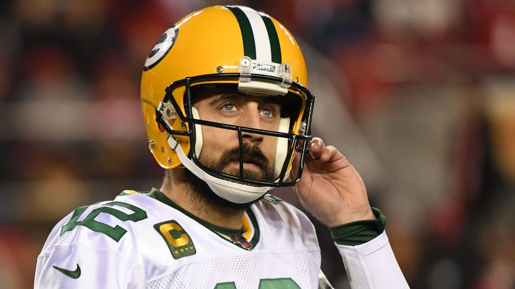 Aaron Rodgers thinking about playing past 40, preferably in Green Bay