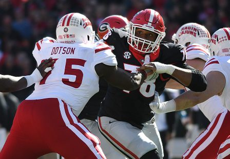 Kevin Dotson becomes first non-Combine invite drafted