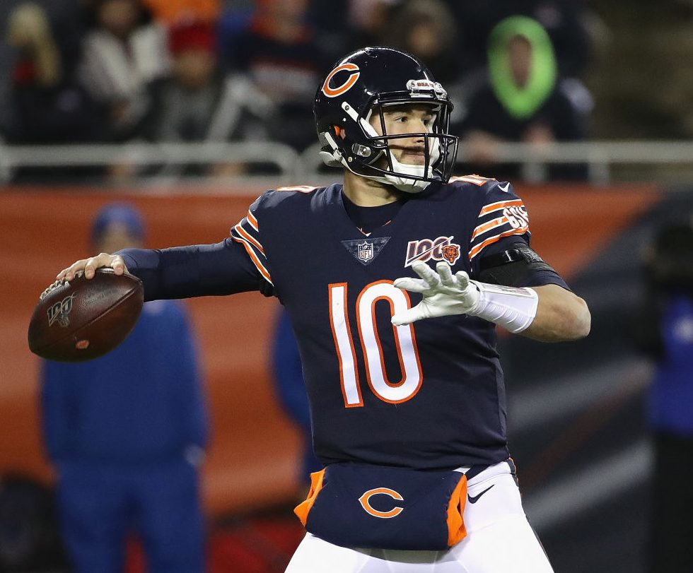 Mitchell Trubisky has embraced quarterback competition