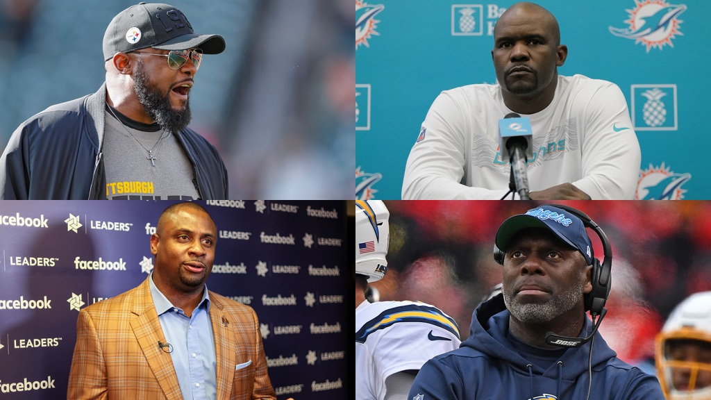 Mike Tomlin, Brian Flores, Anthony Lynn, Troy Vincent