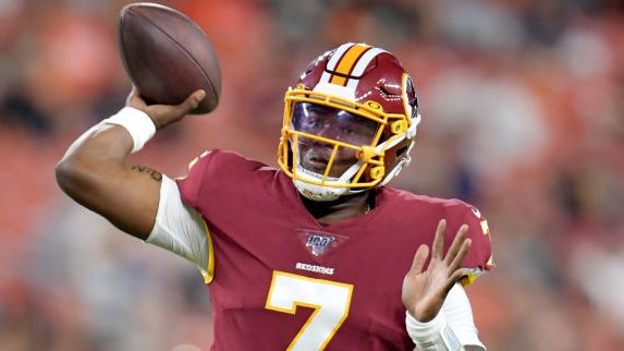 Doug Williams: Dwayne Haskins has the most effective arm of any QB drafted the final two years - NBC Sports - NFL thumbnail