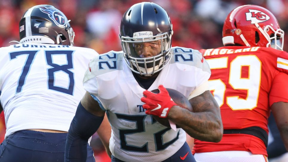 Derrick Henry isn't expected to sign a long-term deal