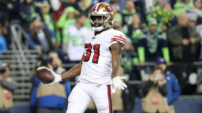 Raheem Mostert looking for salary in line with Tevin Coleman - NBC Sports - NFL