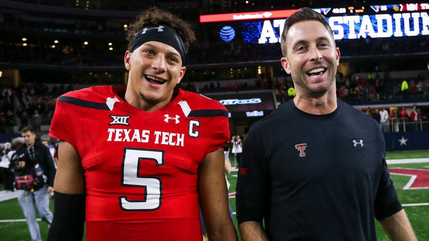 Kliff Kingsbury called his shot on Patrick Mahomes contract - NBC Sports - NFL