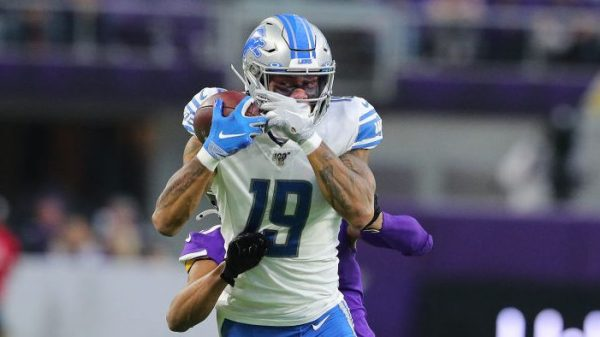 """Lions think Kenny Golladay's return is """"close"""""""