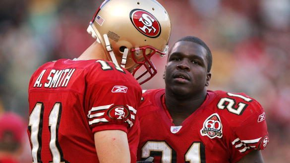 Frank Gore cheers the return of Alex Smith – NBC Sports – NFL