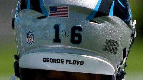 Names on helmets aren't are prominent as they were expected to be