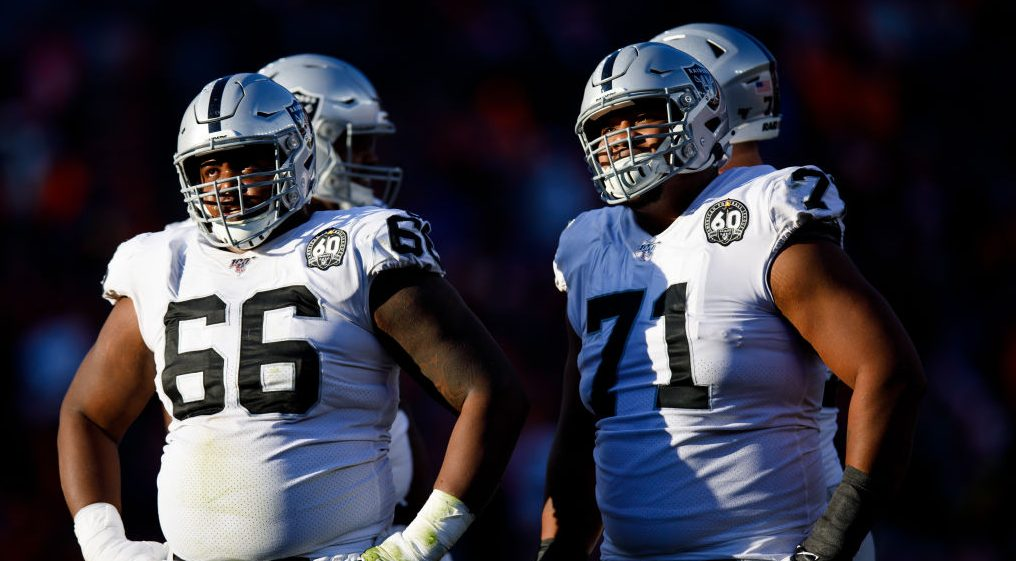Raiders remove four offensive linemen from COVID-19 list elevate David Irving – NBC Sports – NFL