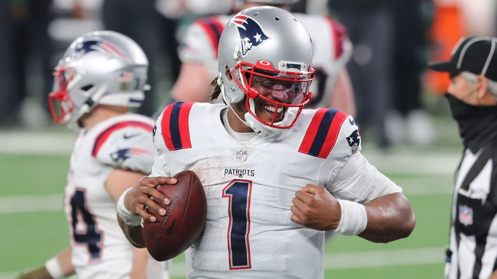 """Cam Newton says he was """"tired of sucking"""" as reason for passing game improvement - NBC Sports - NFL"""