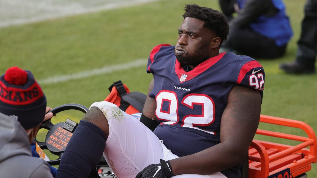 Report: Texans defensive tackle Brandon Dunn out for season with ...
