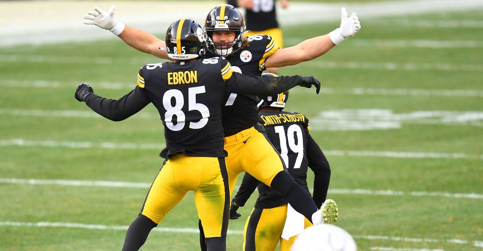 Steelers not thinking about next week as they celebrate division title - NBC Sports