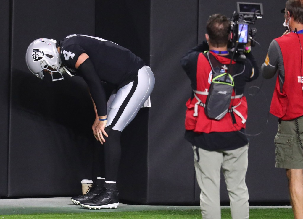 """Jon Gruden says Derek Carr's groin injury is """"significant"""" – NBC Sports"""