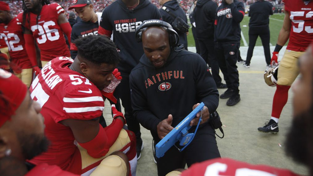 Report: DeMeco Ryans expected to be promoted to 49ers defensive ...