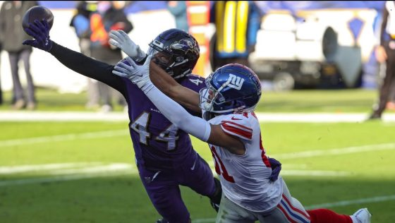 New York Giants v Baltimore Ravens