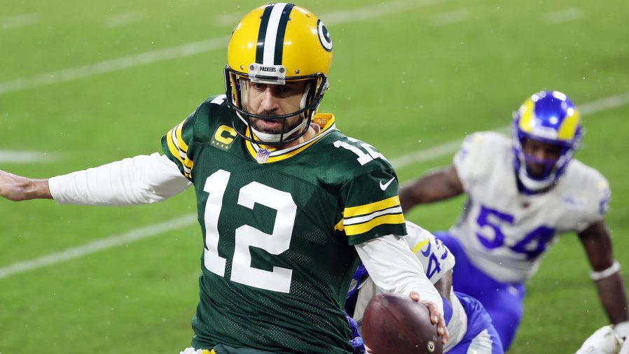 Report: Rams made a run at Aaron Rodgers – NBC Sports
