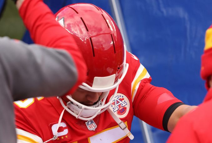 Chiefs not worried about Patrick Mahomes' toe – NBC Sports