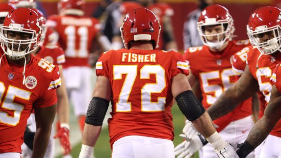 Eric Fisher suffered a torn Achilles