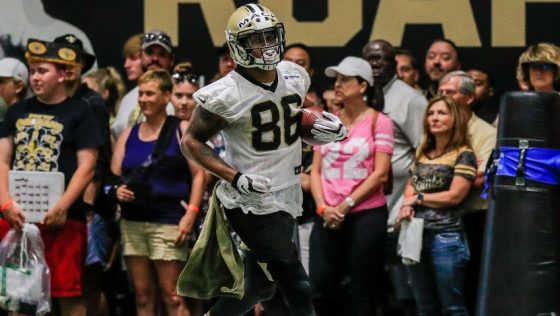 NFL: JUL 27 Saints Training Camp