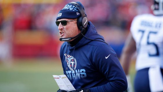 Mike Vrabel believes continuity in coaching staff from coordinator promotions will help Titans