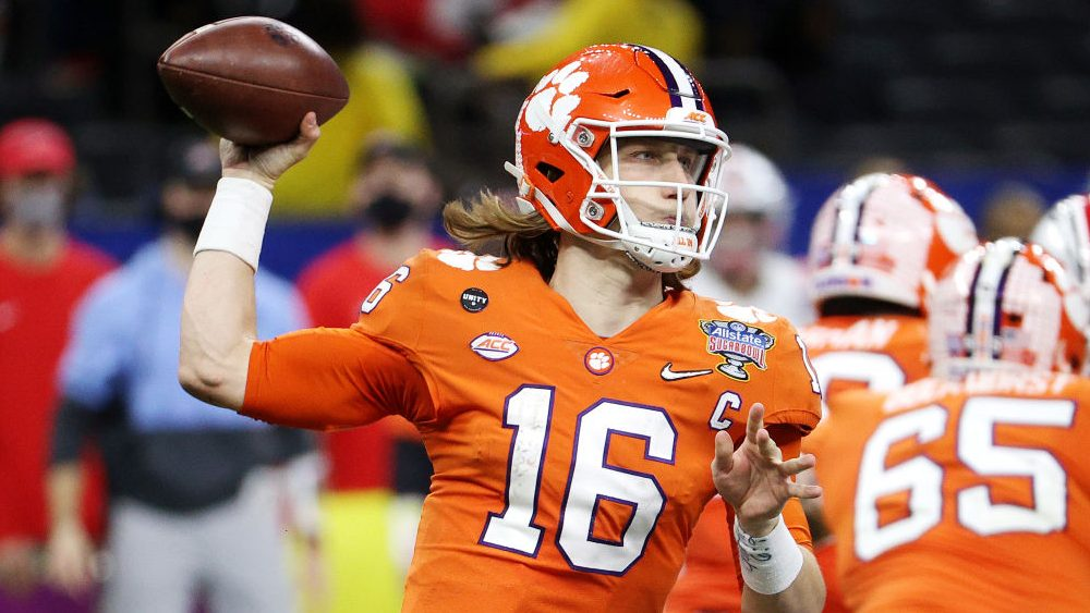 Report: Seven of top 10 teams in draft will watch Trevor Lawrence throw Friday – NBC Sports