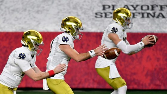 College Football Playoff Semifinal at the Rose Bowl Game presented by Capital One - Alabama v Notre Dame