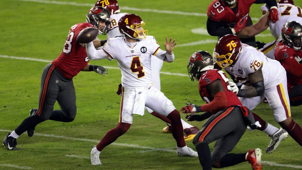 Taylor Heinicke: I'm excited to be back - NBC Sports