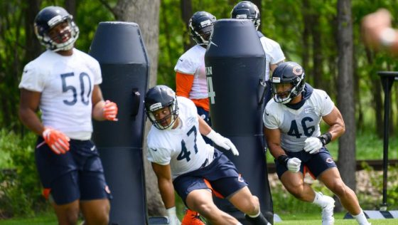 NFL: JUN 05 Chicago Bears OTA