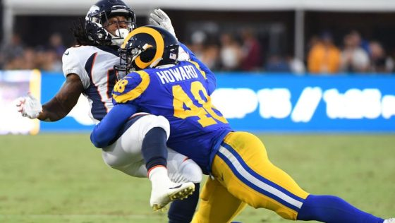 DENVER BRONCOS VS LOS ANGELES RAMS
