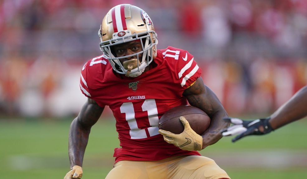 Marquise Goodwin reverts back to 49ers