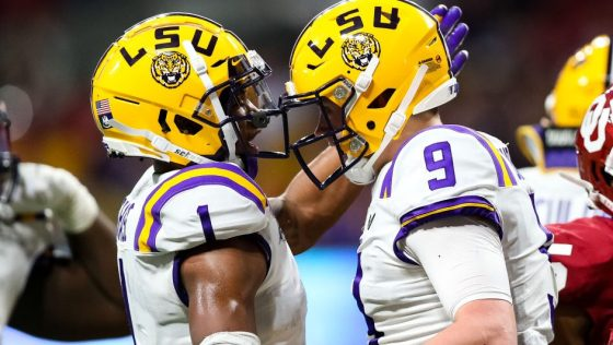 Ja'Marr Chase wouldn't mind playing with Joe Burrow again