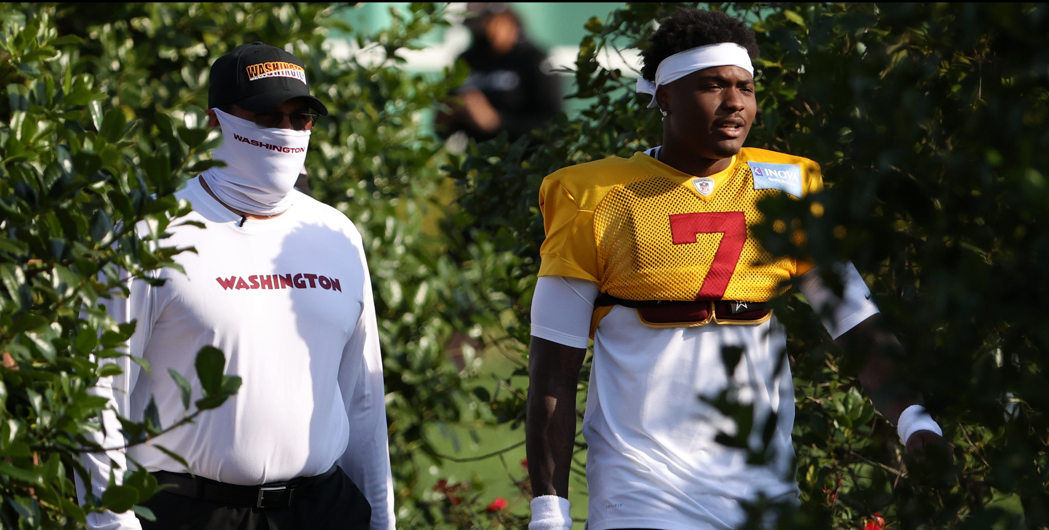Ron Rivera admits Dwayne Haskins' work ethic, commitment were issues - NBC Sports