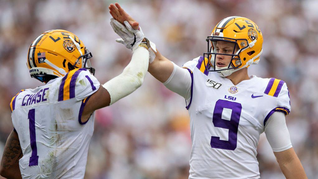Joe Burrow not lobbying for Bengals to draft Ja'Marr Chase, or Penei Sewell