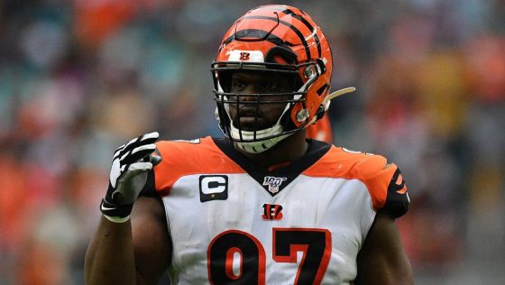 Duke Tobin: We'll see if there are things that can be worked out with Geno Atkins