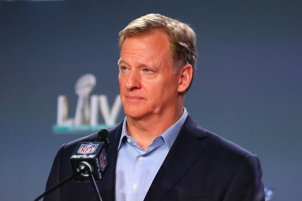 NFL: JAN 29 Super Bowl LIV - Commissioners Press Conference