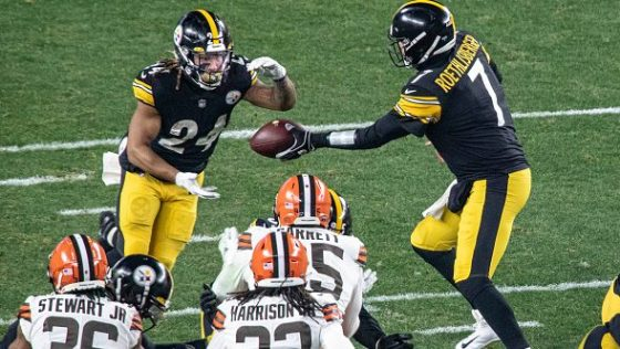 NFL: JAN 10 AFC Wild Card - Browns at Steelers