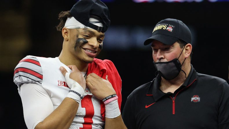 Ryan Day defends Justin Fields while also calling out those who opted out – NBC Sports