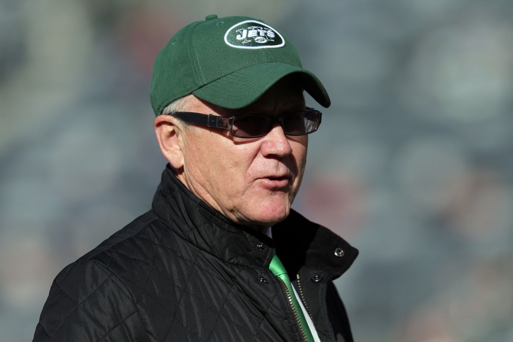 Woody Johnson opts not to talk about Donald Trump