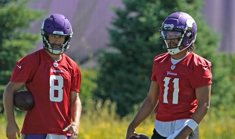Report: Kellen Mond tests positive for COVID-19, Kirk Cousins a high-risk contact