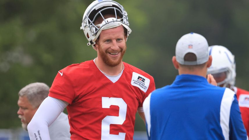 Carson Wentz not practicing Friday due to foot injury