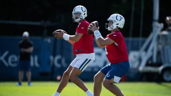 NFL: AUG 02 Indianapolis Colts Training Camp