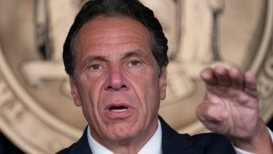 Governor Andrew Cuomo holds press briefing and makes