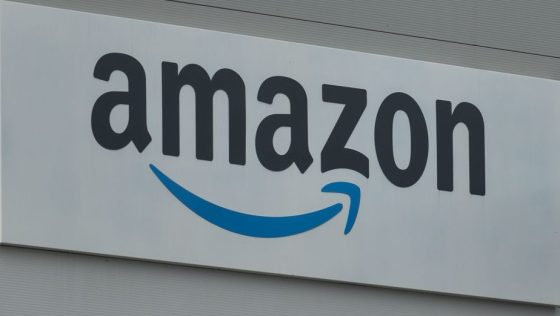 Amazon Delivery Center In Belfast During Covid-19 Lockdown